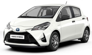 Kalithea Rent a Car Rhodes Toyota Yaris